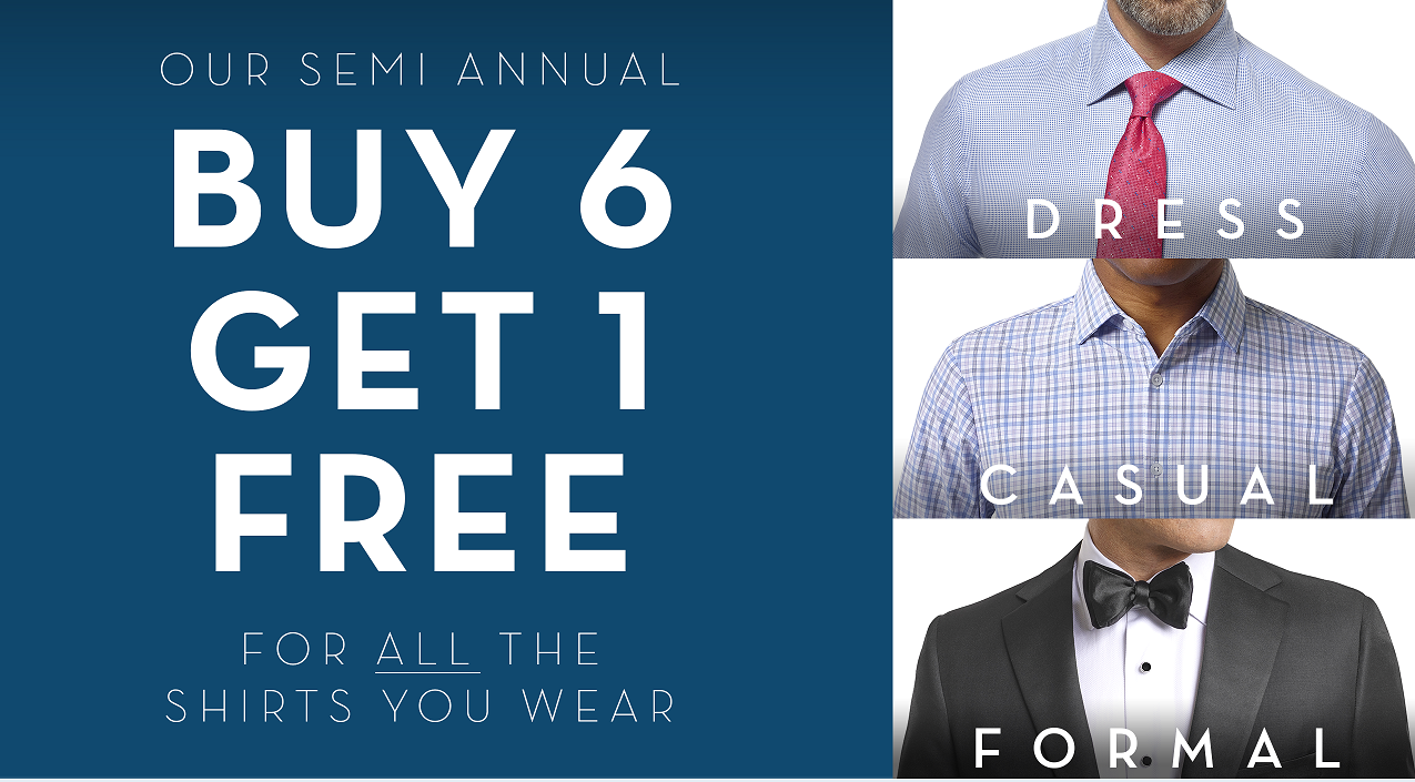 Tom James Tampa Erik Peterson Spring Summer Custom Shirt Sale